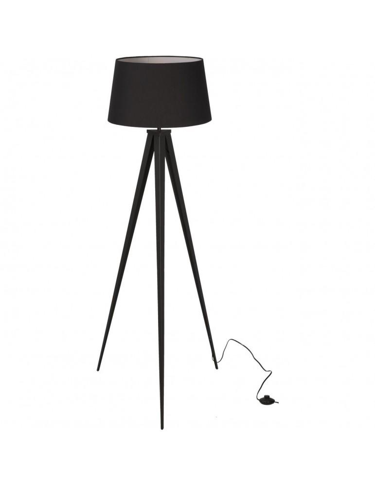 lampadaire trépied renée noir 26508NO