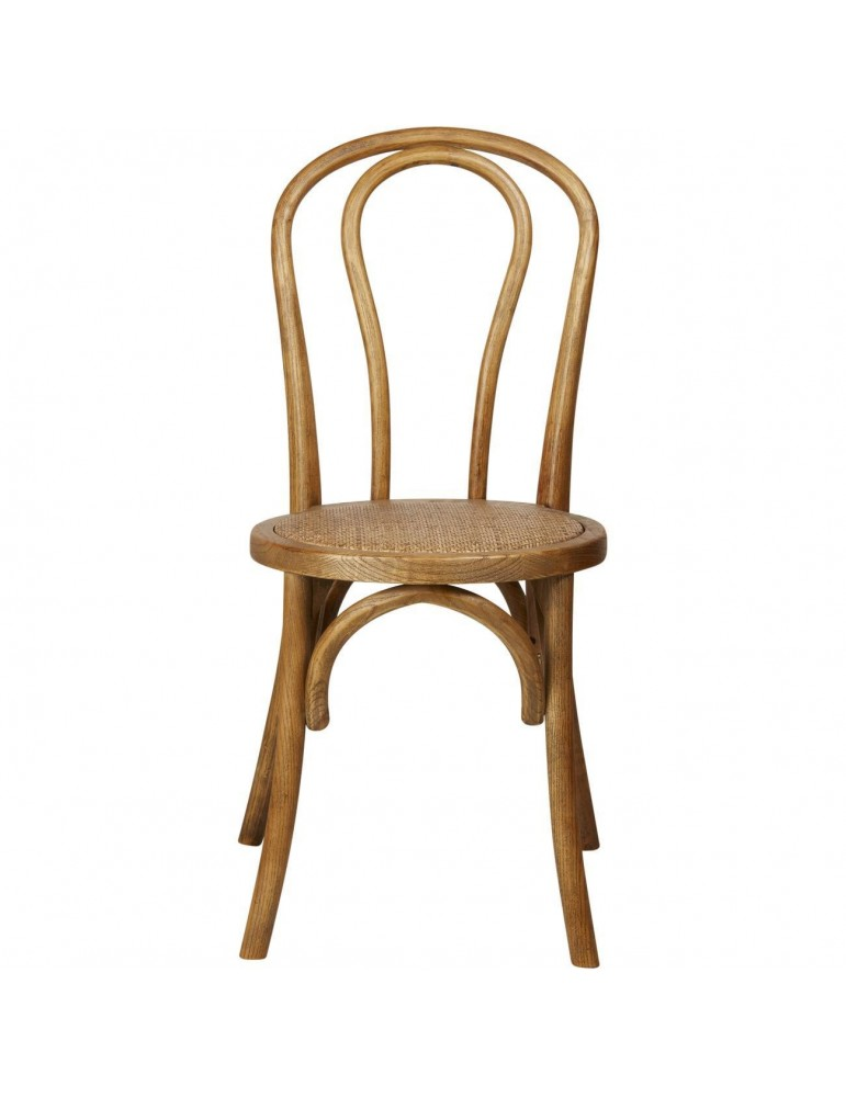 Lot 2 chaises alina bois noyer 27357NY