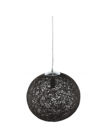 suspension globe lansdowne noir 3238NO
