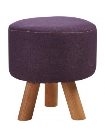 Pouf design confortable khalida violet 41300VI