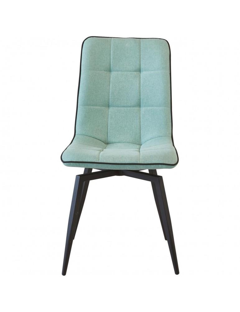 Lot de 4 chaises design geoffrey bleu 50325BU