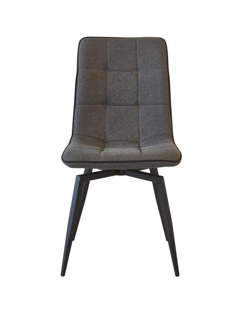 Lot de 4 chaises design geoffrey gris 50325GA