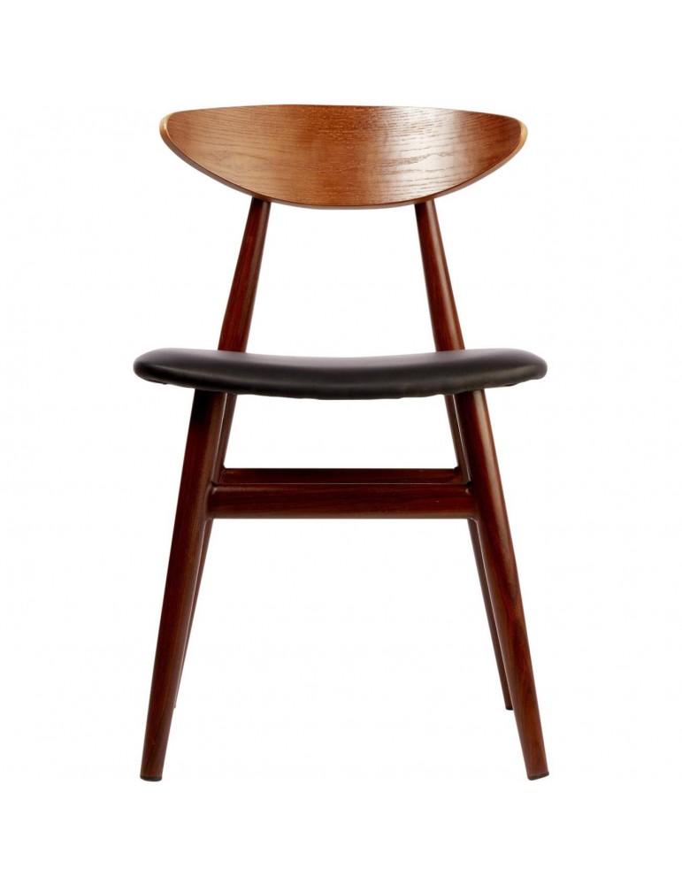 Lot 2 chaises sejour julietta noir 74202NO