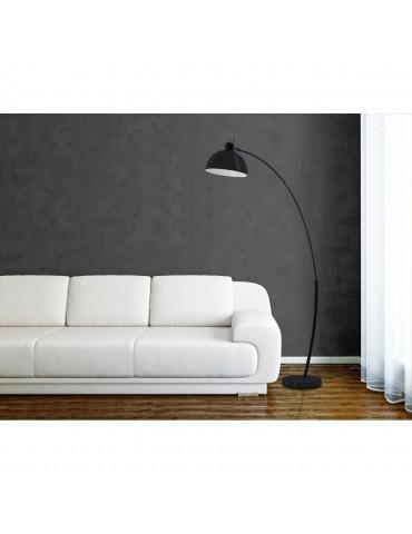 lampadaire arc frosini noir 47920NO