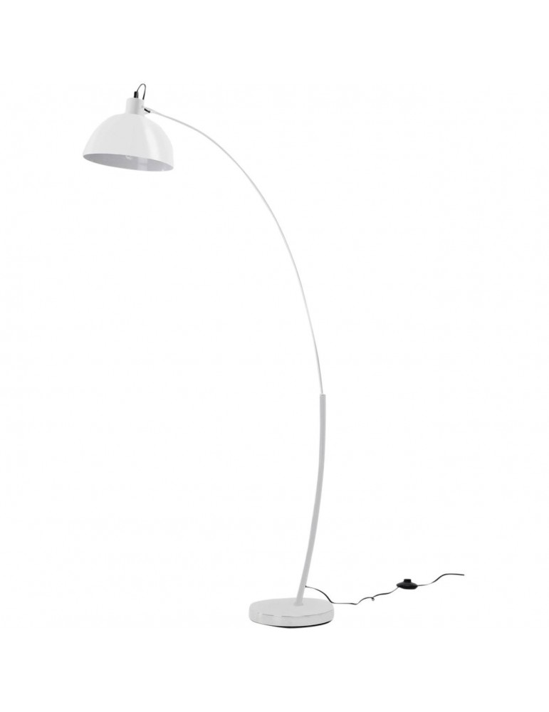 lampadaire arc frosini blanc 47920BL