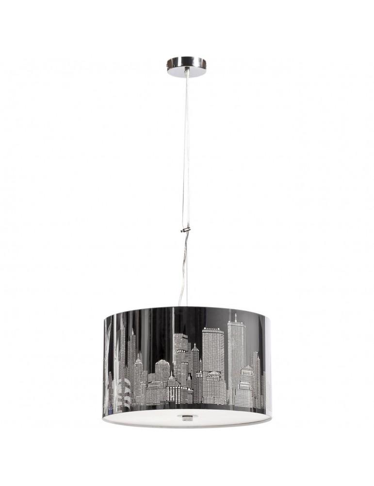 suspension branchee en metal decor new york city jacob aluminium 3104AL