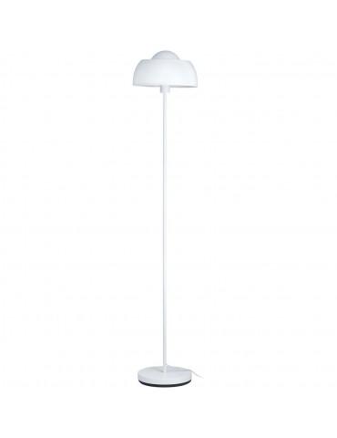 lampadaire en metal aki blanc 26635BL