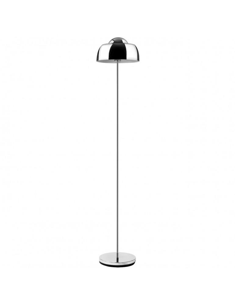lampadaire en metal aki chrome 26635CR