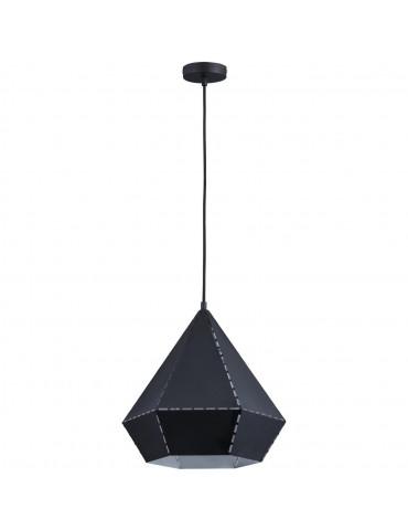 suspension diamant kitsch noir 26633NO