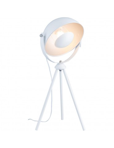 lampe trépied moderne et design chicago blanc 26631BL