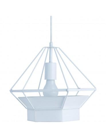 suspension diamant cornell blanc 26623BL