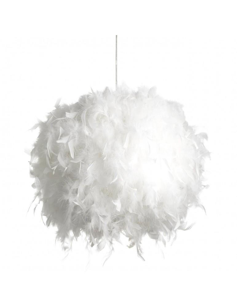 suspension plume javier blanc 26270BL