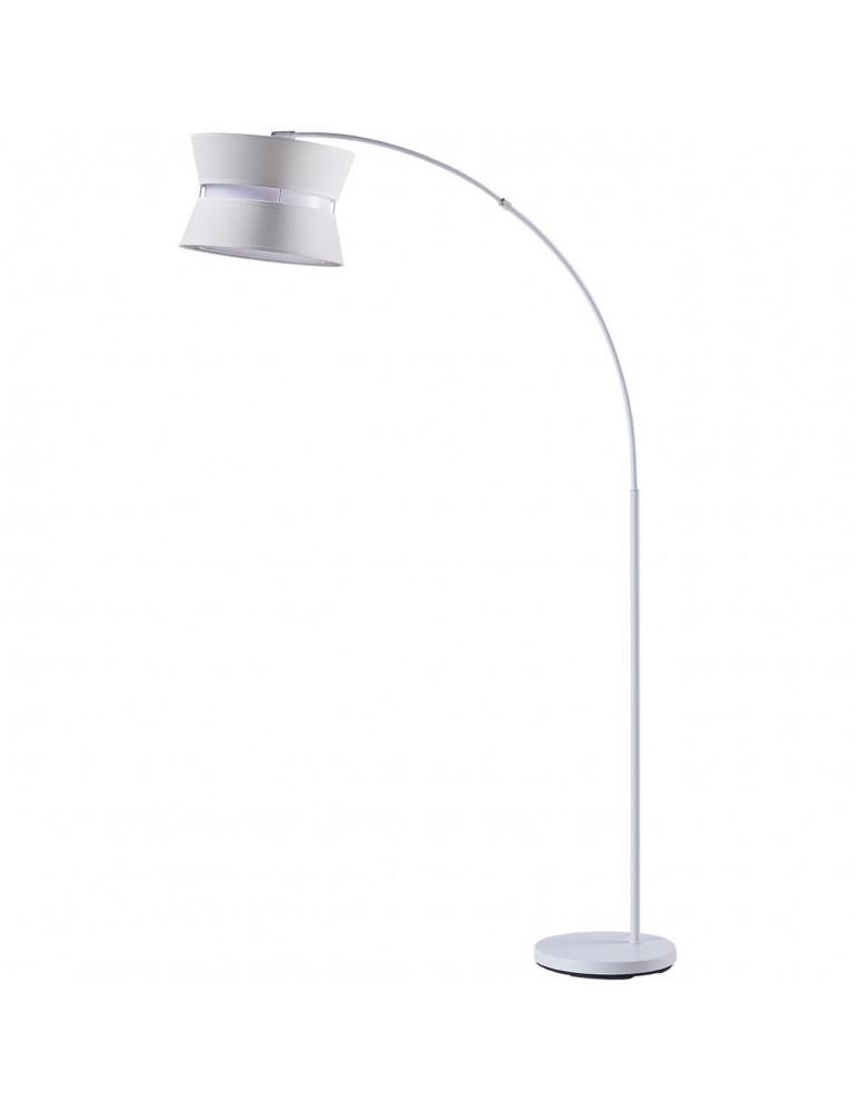 lampadaire arc moritz blanc 26611BL