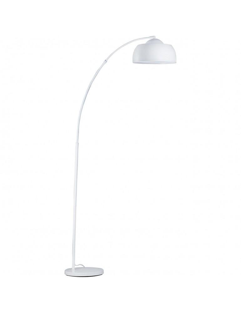 lampadaire arc metal liam blanc 26610BL