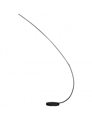 lampadaire en metal LED takio noir 26237NO