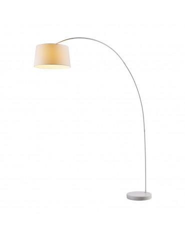 lampadaire arc en métal senisa blanc 26212BL