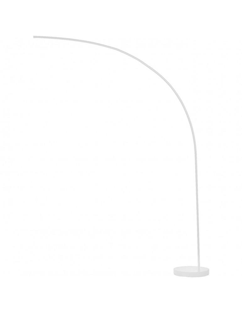 lampadaire en metal led novak blanc 26238BL