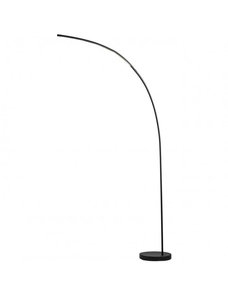 lampadaire en metal led novak noir 26238NO