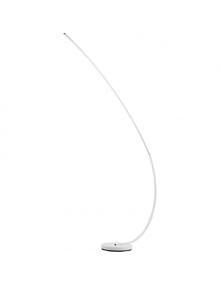 lampadaire en metal led takio blanc 26237BL