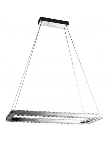 Suspension rectangulaire Olla aluminium 26235