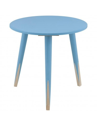 Table appoint scandinave grenadine bleu 13500BU