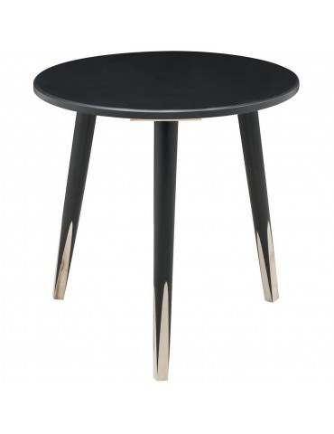 Table appoint scandinave grenadine noir 13500NO