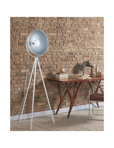 lampadaire trépied design flippa blanc 26632BL