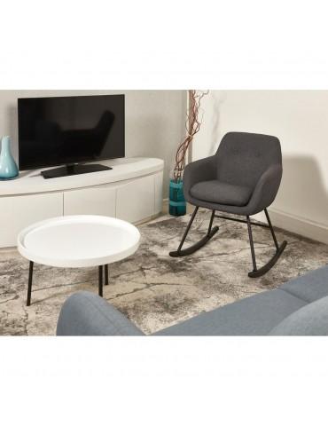 Rocking chair tendance glenn gris 61121GA
