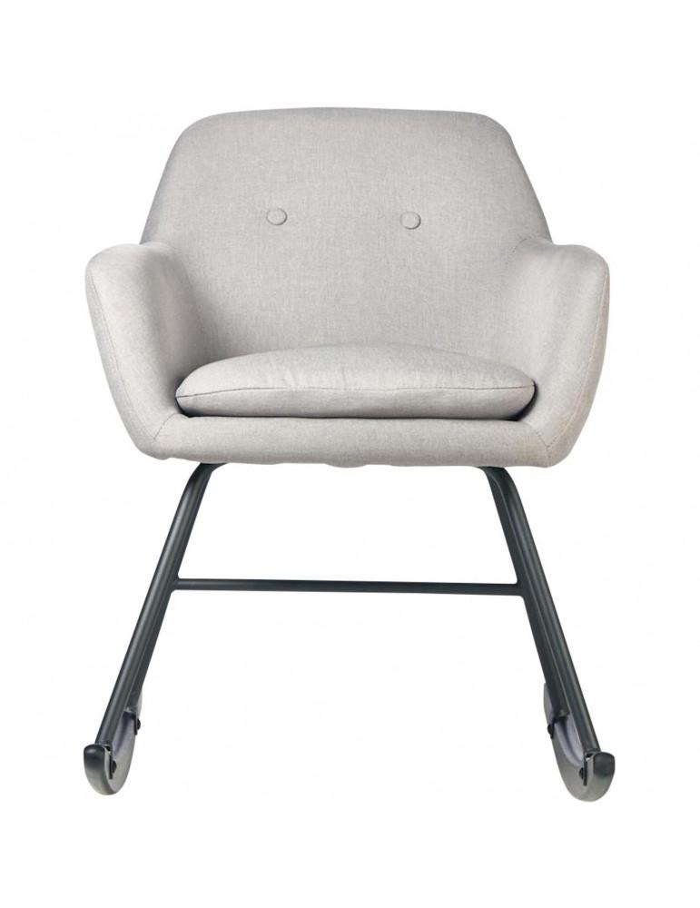 Rocking chair glenn gris 61121GR