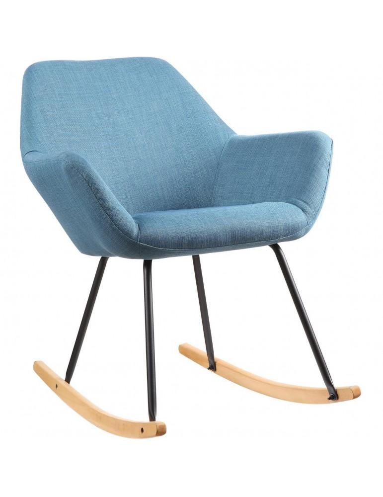 Rocking chair palma bleu 47134BU