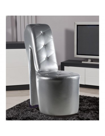 Fauteuil confort roscoe argent 3691AR