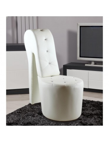 Fauteuil confort roscoe blanc 3691BL