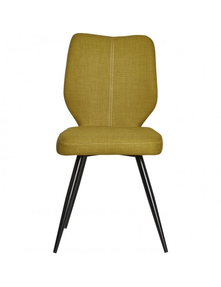 Lot de 2 chaises de salle à manger gigi vert 52868VE