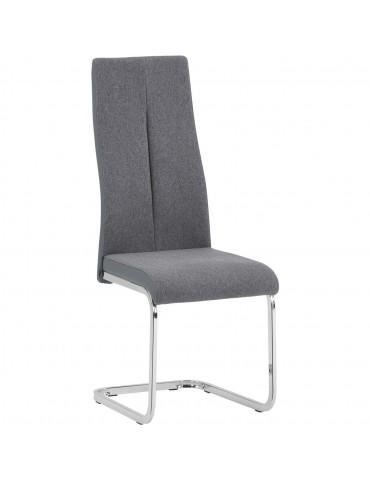 Lot de 4 chaises rinery gris 48610GR