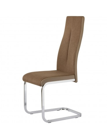 Lot de 4 chaises rinery taupe 48610TA