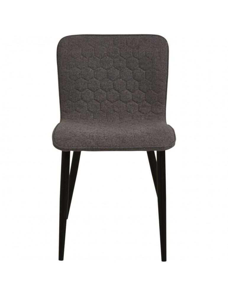 Lot de 4 chaises de sejour design jelly gris 43111GR