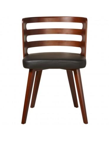 Chaise de sejour scandinave miller noir 35302NO