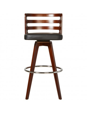 Tabouret de bar avery noir 35303NO