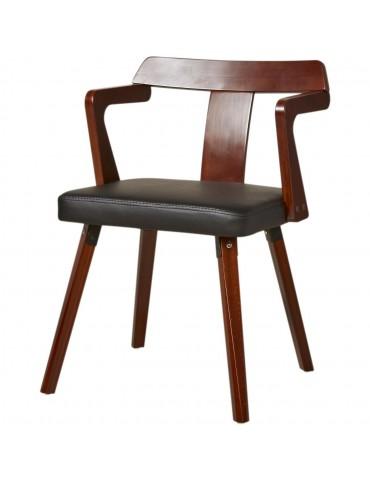 Chaise de sejour scandinave catfield noir 35306NO