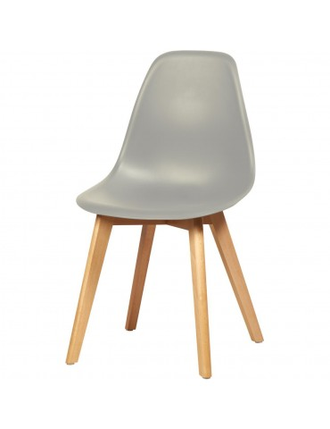 lot de 4 chaises scandinaves liana gris 16150GR