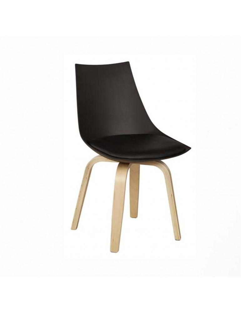 Chaise moderne jonathan noir 16166NO
