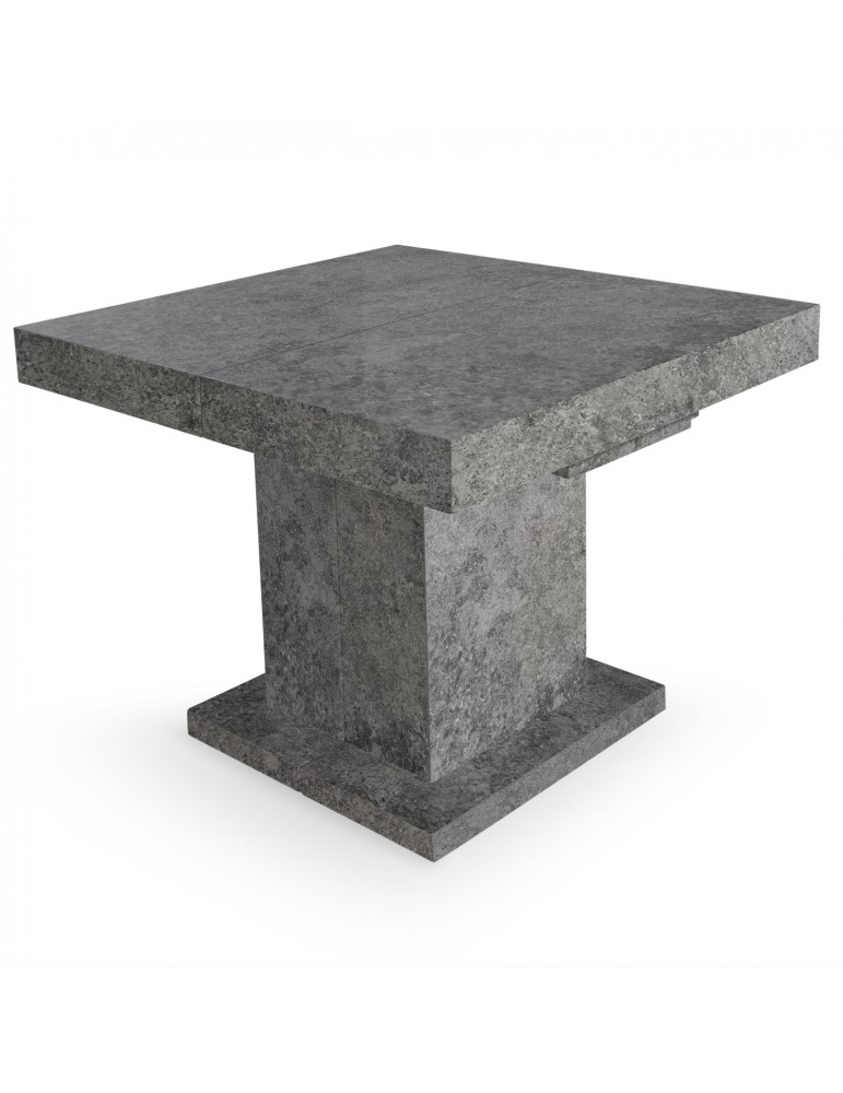 Table extensible mustang effet beton br16250beton for Table extensible effet beton