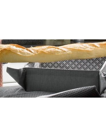 Corbeille à pain Flory Ombre 20 x 20 x 7 8117075000Les Ateliers du Linge
