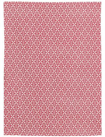 Torchon imprimé Calypse Rouge 50 x 70 8455030000Winkler