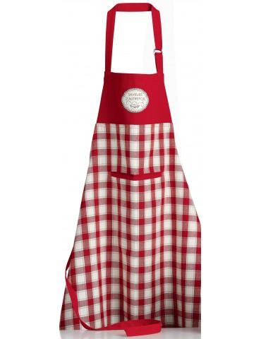 Tablier de cuisine Saveurs d'autrefois Rouge 72 x 85 8525030000Winkler
