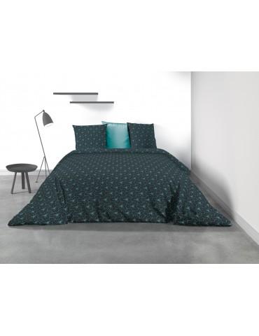 Parure de lit 2 personnes Myror avec housse de couette et taies d'oreiller Imprimé 260 x 240 8069000503Les Ateliers du Linge
