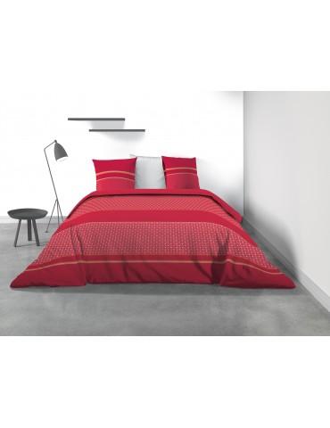 Parure de lit 2 personnes Lolipop avec housse de couette et taies d'oreiller Imprimé 260 x 240 8048000503Les Ateliers du Linge