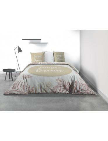 Parure de lit 2 personnes Jungle Dream avec housse de couette et taies d'oreiller Imprimé 260 x 240 7816000503Les Ateliers du...