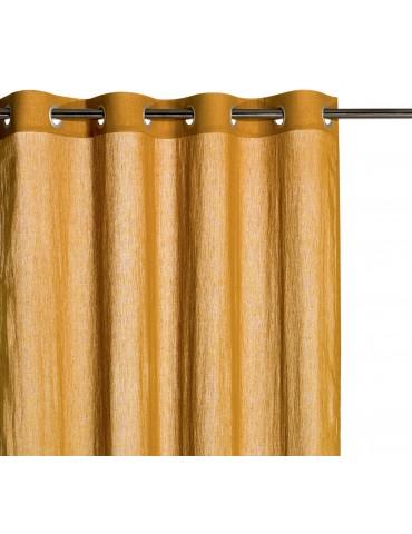 Rideau voile Zeff Bronze 140 x 280 7130085000Vivaraise