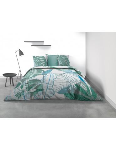 Parure de lit 2 personnes Fertaly avec housse de couette et taies d'oreiller Imprimé 240 x 220 7684000503Les Ateliers du Linge